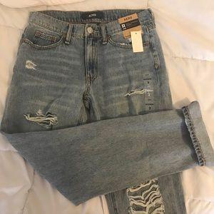 AERO Distressed Boyfriend Jeans Size 2